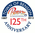 Town of Benson, 125th Anniversary Logo